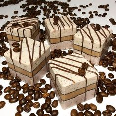 Coffee-Beans Soap For scrub effect & deodorant effect Coffee aroma make us feel relaxed コーヒー☕️石鹸 挽いたコーヒー豆を入れているので スクラブ効果とコーヒーの持つ 消臭効果の期待✨ 同時にコーヒーの香りに癒されて #soap #coldprocesssoap #handcraftedsoap #coffee #coffeebeans #cafe #soapshare #handmadesoap #sabun #savon #art #herbalife #design #perfection #beautiful #fragrance #nature #natural #photo #artisan #love #photograph #felicitesoap #creative #skincare #soapcrafting #fun #石鹸#石鹸教室#手工皂