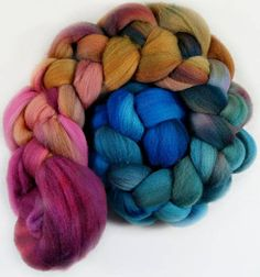 Jewel merino wool top for spinning and felting 3.9 ounces