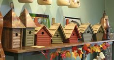 Birdhouses Spotted at The Fat Robin in Hamden, CT!  Chick #BirdhouseSpotted