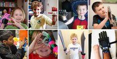 3D Printed Arms Turn Kids into Superheroes