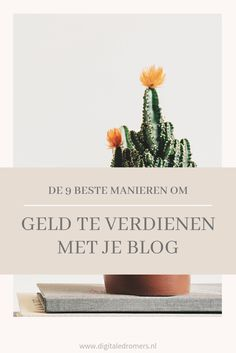 Geld verdienen met je blog kan op verschillende manieren. Lees hier de beste tips om succesvol geld te verdienen met bloggen.