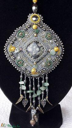 Tündérlak gyöngyhímzett nyaklánc (sugarfono) - Meska.hu Jewelry, Fashion, Moda, Jewlery, Jewerly, Fashion Styles, Schmuck, Jewels, Jewelery