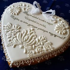 Lace Cookies, Heart Cookies, Royal Icing Cookies, Fun Cookies, Cupcake Cookies, Sugar Cookies, Valentine Cookies, Easter Cookies, Wedding Cookies