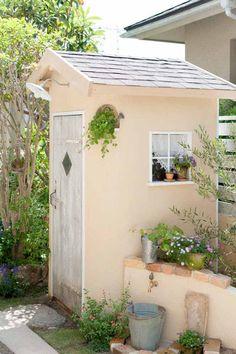 庭をおしゃれにする庭小屋