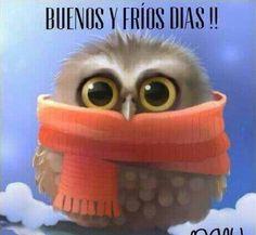 En Dias buenos y frios - keep yourself warm.
