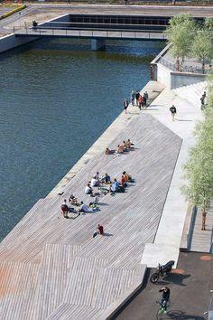 Navitas Harbour Front by Marianne Levinsen Landskab « Landscape Architecture Works | Landezine
