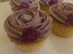 Cupcakes de violeta... ¡cómo huelen!