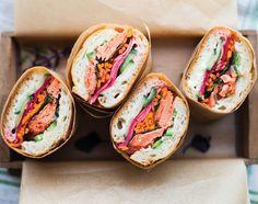 Salmon Banh Mi From 'Vibrant Food'
