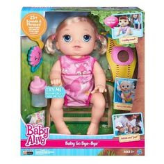 Boneca Baby Alive - Vamos Passear Loira - Hasbro