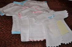 Baby Burial Gown Patterns | These are small gowns which are much easier to dress such a tiny baby.