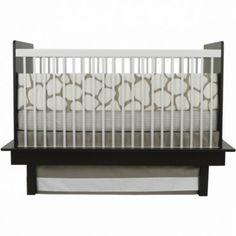 Oilo 3 Piece Crib Bedding Set (Taupe Cobblestone) - www.rightstart.com