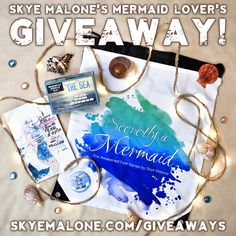 Skye Malone's Mermaid Lover's Giveaway! http://skyemalone.com/giveaways/skye-malone-mermaid-lovers-giveaway/?lucky=9197