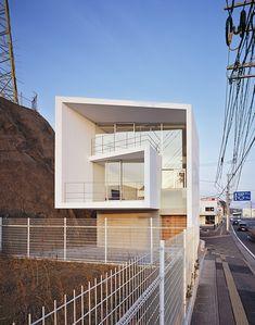 Plans Architecture, Commercial Architecture, Japanese Architecture, Beautiful Architecture, Contemporary Architecture, Architecture Details, Interior Architecture, Arch House, Facade House