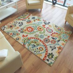 Woodstock Paisley Rug 32099 6264 Cream Blue Green Yellow Orange Multi Coloured Rugdiner Ideasrug Companywoodstockthe Goodblue