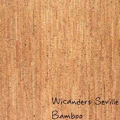 Wicanders Seville, Bamboo cork flooring.