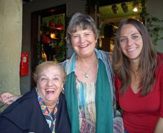 Sister Cities members Angel Algeri and Gayle Maxey with guide Laura Serafin during tour of Treviso Province