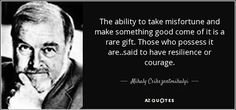 Courage by Mihaly Csikszentmihalyi