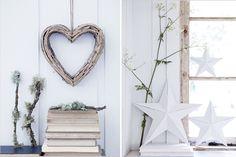 La navidad se acerca y hay que empezar a pensar cómo decoramos la casa. Este año una de las tendencias es lo natural, adornos en madera y color blanco, un estilo muy nórdico que podemos hacer nosot…