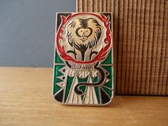 CIRCUS / Vintage Pin / Circus LION / Soviet Badge / by EUvintage