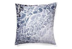 Lyrical 20x20 Pillow, Gray  DENY DESIGNS