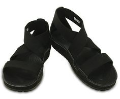 """Sarah sandal - One thing you'll love about these sandals are the stretchy upper straps — they adapt to your foot and always give you a feel-good fit. With casual good looks and our Croslite™ foam footbed for plenty of cushion, these are the """"comfort sandals"""" with a shot of style. Free shipping on qualifying orders."""