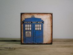 Doctor Who TARDIS Art  MatchBlox The Mix and Match by MatchBlox, $29.00