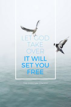 1 - Giving #God control will set you free.