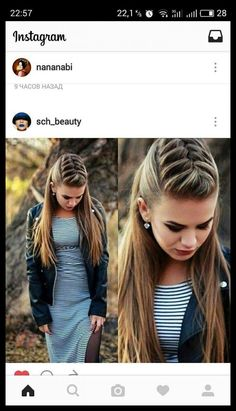 Beautiful hairstyles for girls and adults! De … - Best New Hair Styles Girl Hairstyles, Braided Hairstyles, Wedding Hairstyles, Unique Hairstyles, Hairdos, Beautiful Hairstyles, Braided Updo, Viking Hair, Pinterest Hair