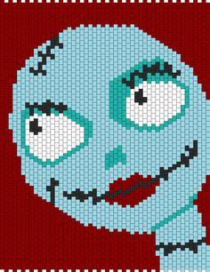 Nightmare Before Christmas Sally bead pattern