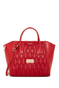 Quilted Gigi Genuine Leather Satchel by Valentino By Mario Valentino on @nordstrom_rack