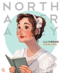 Northanger Abbey - Catherine Morland by ~flominowa on deviantART