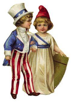 VintageFeedsacks: Patriotic