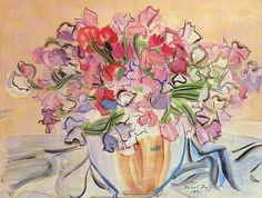 Original Works by Raoul Dufy | ... we can see the results in some paintings. Here's one by Raoul Dufy