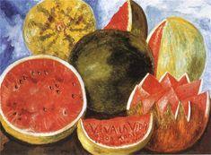 Viva la Vida, Watermelons 1954 Frida Kahlo