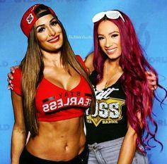 Nikki Bella & Sasha Banks