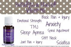 Uses of Young Living Valor Essential Oil