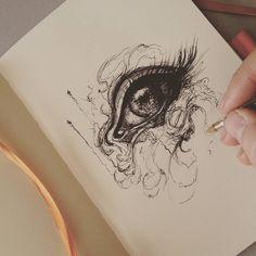 Pencil art, art drawings beautiful, awesome drawings, beautiful artwork, am Beautiful Sketches, Art Drawings Beautiful, Cool Sketches, Art Drawings Sketches, Easy Drawings, Amazing Sketches, Awesome Drawings, Awesome Art, Beautiful Artwork