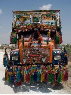 camion pakistanais