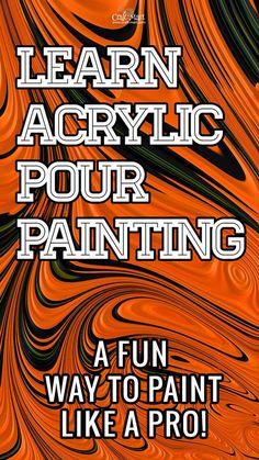 Have fun creating amazing abstract wall art on canvas with the acrylic pouring technique! Easy to learn - great results. Lots of fun guaranteed! Pour Painting Techniques, Acrylic Pouring Techniques, Acrylic Pouring Art, Acrylic Art, Diy Hanging Shelves, Diy Wall Shelves, Diy Wall Art, Dollar Tree Storage Bins, Mason Jar Lighting