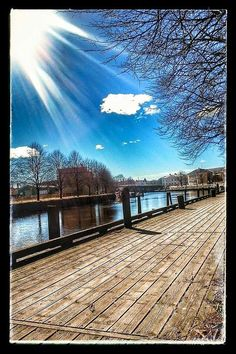 Halden påskeaften 2015 Beautiful Places In The World, Most Beautiful, Norway, Mansions, House Styles, Home Decor, Mansion Houses, Decoration Home, Manor Houses