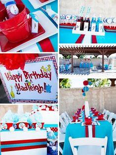 Cute Ideas for Dr. Seuss Kids Party