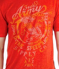 023c699eb4d 3rd   Army High Octane T-Shirt - Men s T-Shirts in Sunset Marled