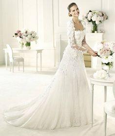 Ein Traum in Weiß: Brautkleider für 2013