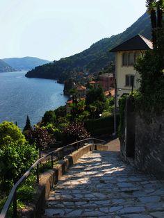 Moltrasio, Italy, on the Lake of Como.