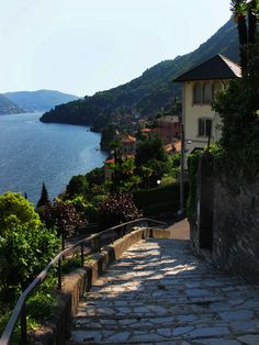 Moltrasio, Italy, on the Lake of Como. Lombardy