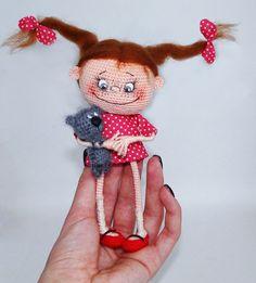 Куклы, куколки, пупсяшки :) - 3 - Страница 106 - Галерея вязалок - Форум почитателей амигуруми (вязаной игрушки)