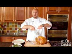 How to Carve a Turkey   Check out this great video about carving a turkey properly.