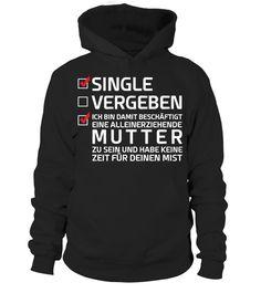 SINGLE ALLEINERZIEHEND - NUR ONLINE - T-shirt