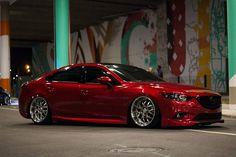 No photo description available. Mazda 6 2017, Mazda Cars, Jdm Cars, My Dream Car, Dream Cars, Mazda 3 Speed, Slammed Cars, Japan Cars, Exotic Cars