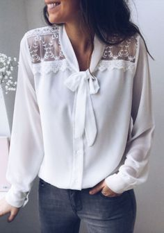 White Outfits, Stylish Outfits, Cute Fashion, Fashion Outfits, Patron Vintage, Western Tops, Blouse And Skirt, Fashion Sewing, Plus Size Blouses